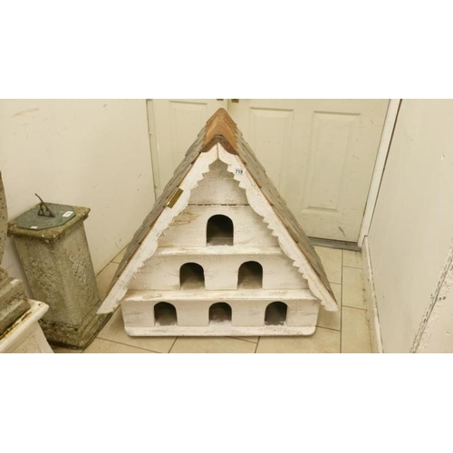 719 - A 6 hole dovecote by The Beautiful Bird House company...