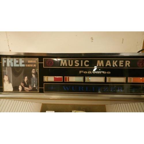 722 - A Wurlitzer stereo juke box...