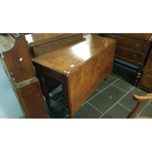 756 - A Victorian mahogany Pembroke table...