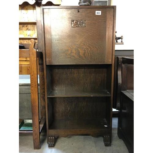 803 - A 1930/40's narrow bureau...