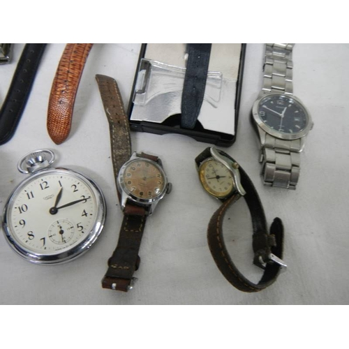 503 - 16 ladies and gents wrist watches....
