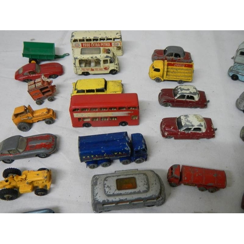 543 - A good selection of early Lesney 1:75 die cast models (38 in total)....
