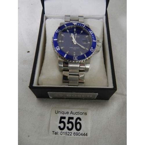 556 - A Bosch limited edition 80 year anniversary edition wrist watch....