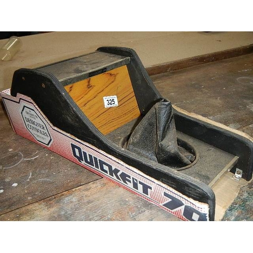 325 - A ''Quickfit 70'' car centre console, circa 1970's.