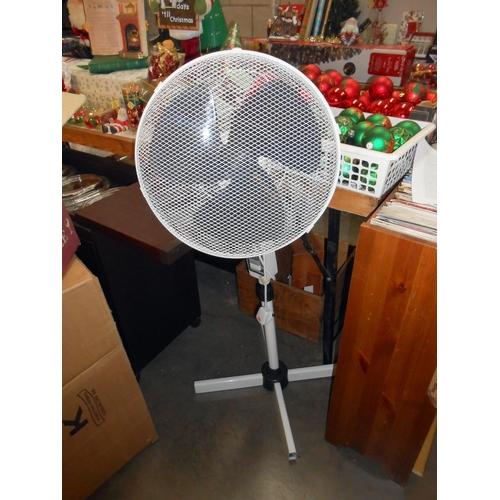 14 - A floor fan