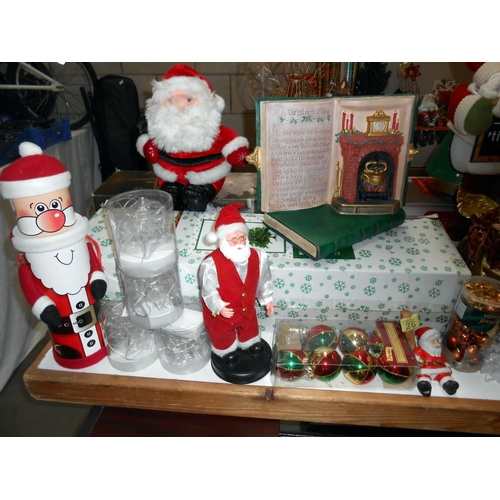 19 - A good lot of Christmas decorations (only 274 days to go!) includes tree