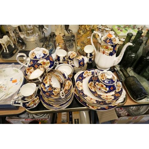 45 - Royal Albert Heirloom pattern tea and coffee service...