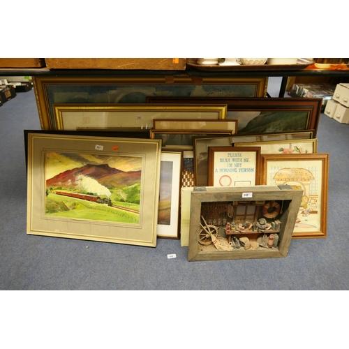 111 - Assorted framed prints...