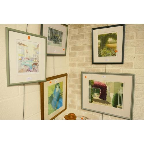 3 - Julian Askins, framed limited edition print,