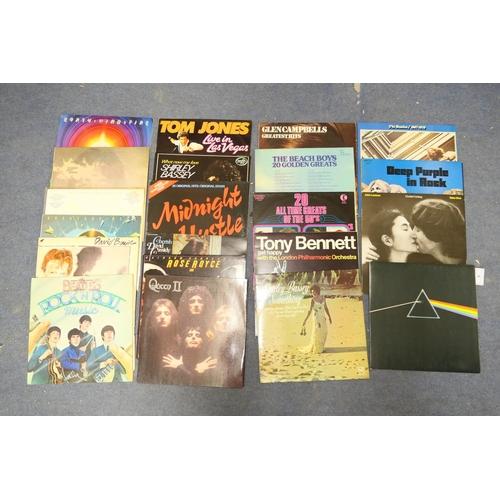 5 - Vintage LP records including Pink Floyd