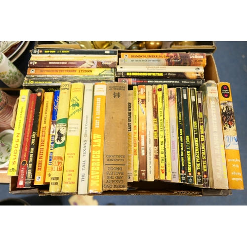 96 - Collection of Western novels...