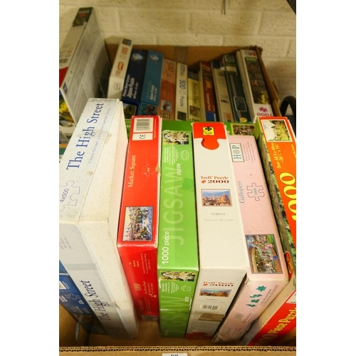 68 - Assorted jigsaw puzzles...