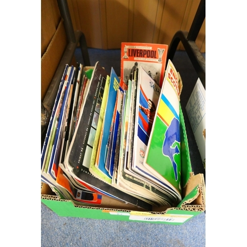 87 - Assorted football programmes and ephemera...