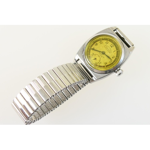 217 - Rare Rolex Oyster 'Viceroy' Imperial chronometer stainless steel wristwatch, circa 1930s, with Dobbi...