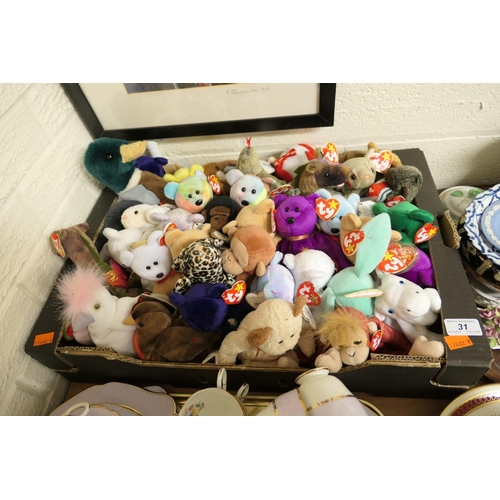 31 - Collection of Ty Beanie Babies...