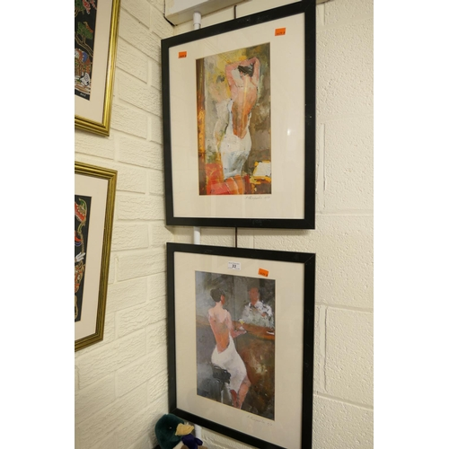33 - A Petrenko, pair of signed artist proof prints...