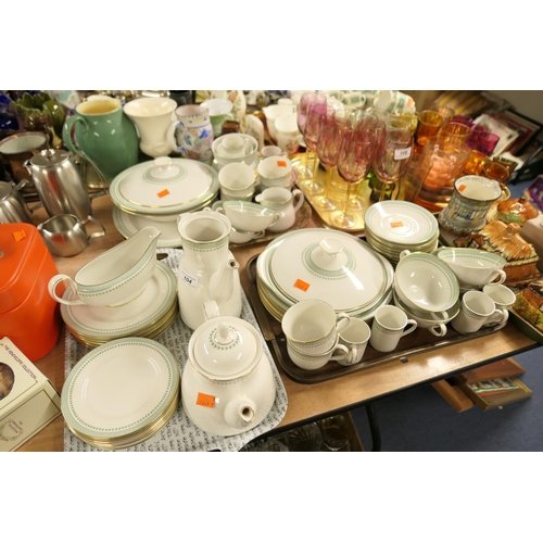 104 - Royal Doulton Berkshire pattern china dinner, tea and coffee service...