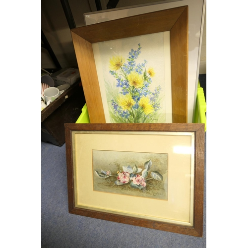 97 - Various framed pictures and prints...