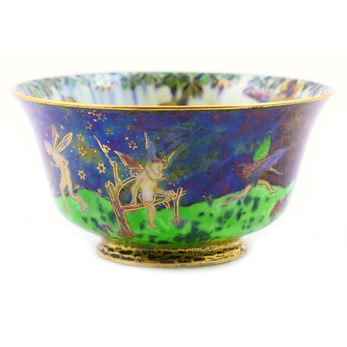 35 - Wedgwood Fairyland lustre York cup, designed by Daisy Makeig-Jones, decorated in the Leapfrogging El...