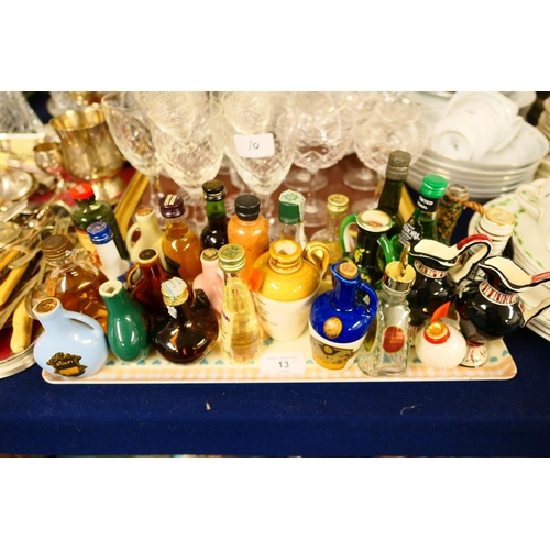13 - Collectable miniatures...