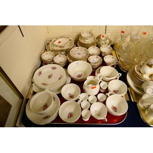 2 - Two Coalport china tea services...