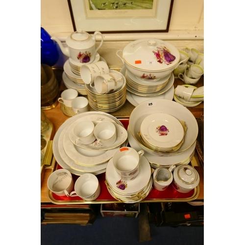 25 - Royal Limoges porcelain tea and dinner service...