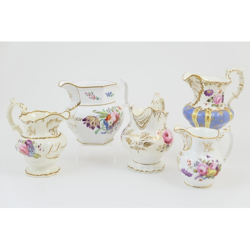 13 - Three Victorian dated and named jugs, comprising 'J Deeming, 1839', 'William and Anne Essay, 1848' a...