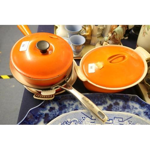 98 - Cousances & Brabantia cast iron cookwares...