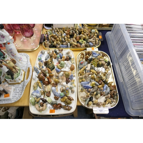 127 - Collection of Wade Whimsies (3 trays)...