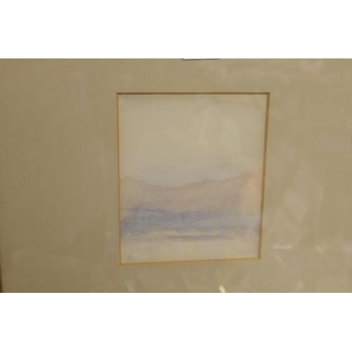 5 - Jon Schueler (American 1916 - 1992), Lakeland landscape, watercolour, signed with initials...