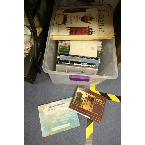 116 - Box of books, art, historical and design...