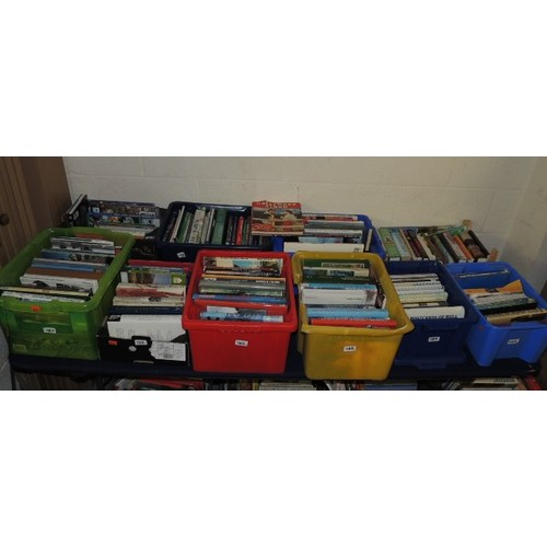 118A - 10 boxes of modern mixed genre books...