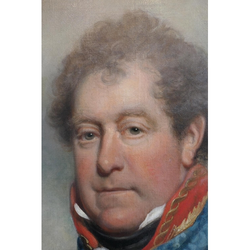 543 - Follower of Sir Martin Archer Shee (1769-1850), Portrait of a nobleman and a veteran of the Battle o...