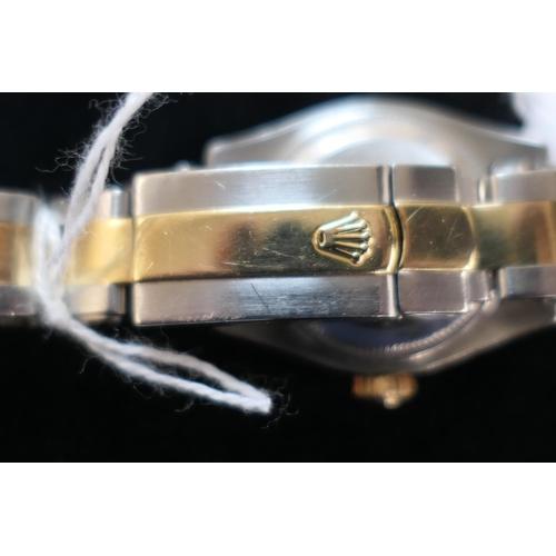 405 - Rolex Oyster Perpetual Datejust lady's bi-metal wristwatch, circa 2005, serial no. F36****, 20mm dia...