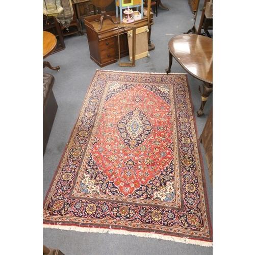 788 - Tabriz style woollen carpet, 323cm x 198cm