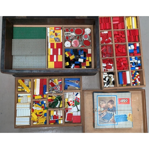 706 - A collection of early Lego Systems parts and an originally boxed Lego System 700/5 set...