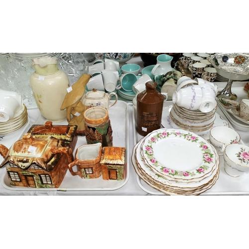 183 - A Paragon bone china tea set; a quantity of decorative china...