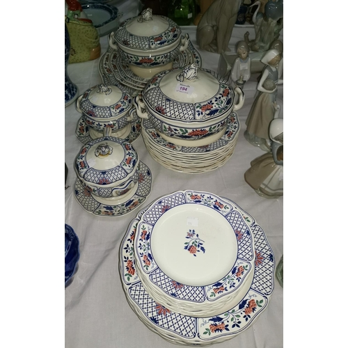 194 - A Wedgwood 'Cheadle' part dinner service...