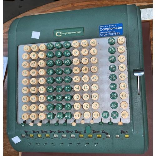 422 - A vintage Comptometer calculator...
