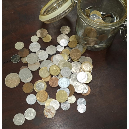 407 - A mixed selection of coins and copies...
