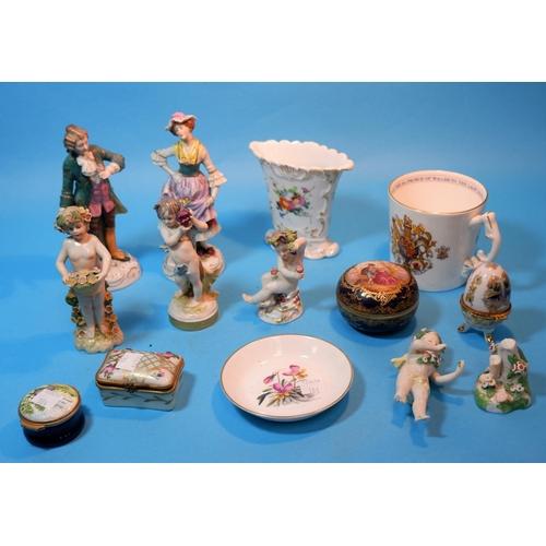 184 - A German porcelain bacchanal figure, 3