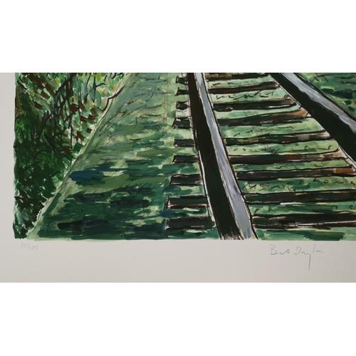 516 - BOB DYLAN (b. 1941 -) 'Train Tracks' Drawn Blank Series 2010, portfolio of four artist signed limite...