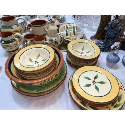 206 - A part dinner and tea service, St Michael's 'Berries', 32 pieces approx...