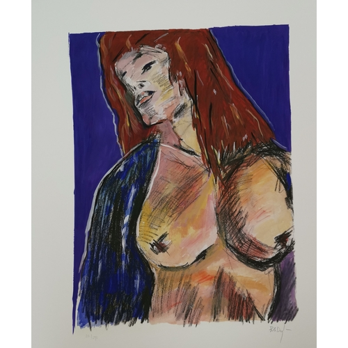 517 - BOB DYLAN (b. 1941-): 'Cassandra' Drawn Blank Series 2010, portfolio of four artist signed limited e...