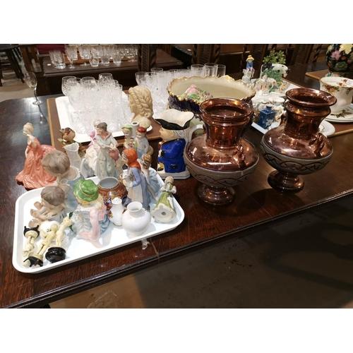 151 - 2 Coalport ladies and other decorative china...