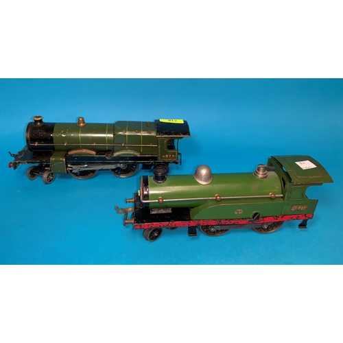 718 - An '0' gauge electric 4-4-2 loco 4073 (green)