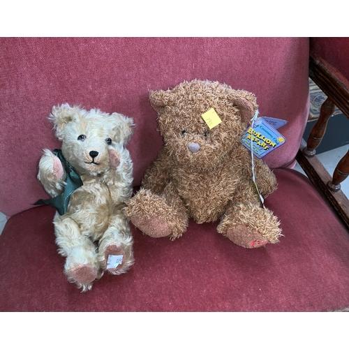 750 - A vintage Bon Bear Teddy Bear; a Bullion Bear Teddy Bear...