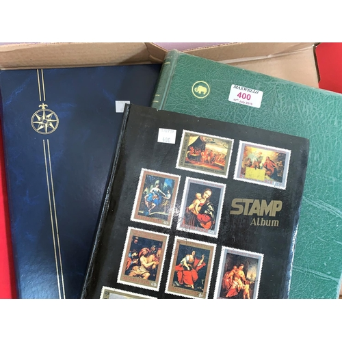 400 - GB:  a collection of stamps to include 1d black and 1d red plates...