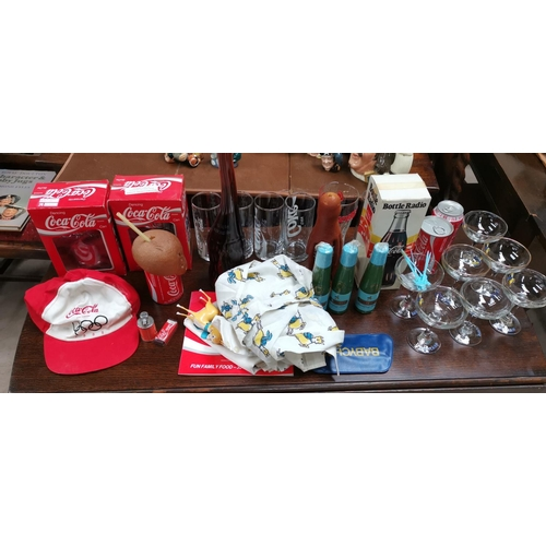 269 - A selection of vintage drinking glasses