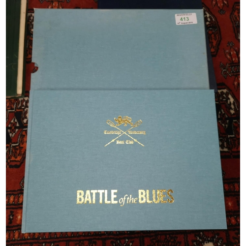 413 - Battle of the Blues, Christopher Dodd and John Marks, slipcase, 2004...